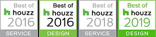 Fred Parker Company Houzz Awards